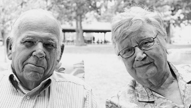 Couple married 65 years