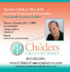 Childers Counseling Service Ad for Evolving Magazine